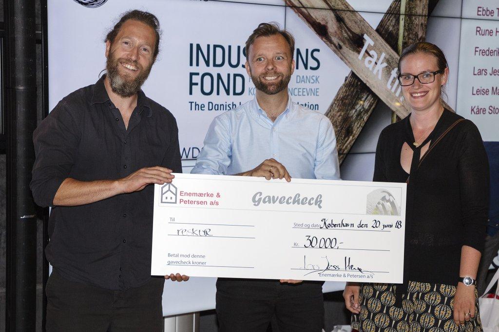 Krydsrum Arkitekter vinder Enemærke & Petersens Upcycle Challenge