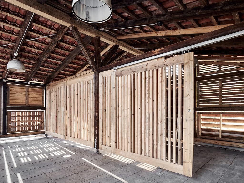 Upcycling af byggeaffald Næste Skur Krydsrum Arkitekter